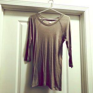 Long layering thin T-shirt, O/S fits most! EUC!